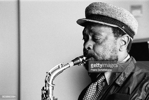 Prince Lawsha, alto saxophone, performs on July 15th 1982 at the BIM huis in Amsterdam, the Netherlands.
