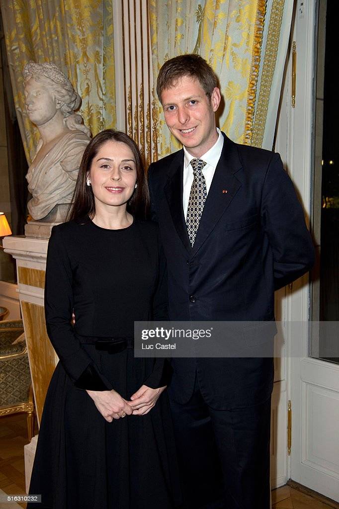 Prince Leka II Of Albania Announces His Wedding at Cercle de L'Union Interallie In Paris : News Photo