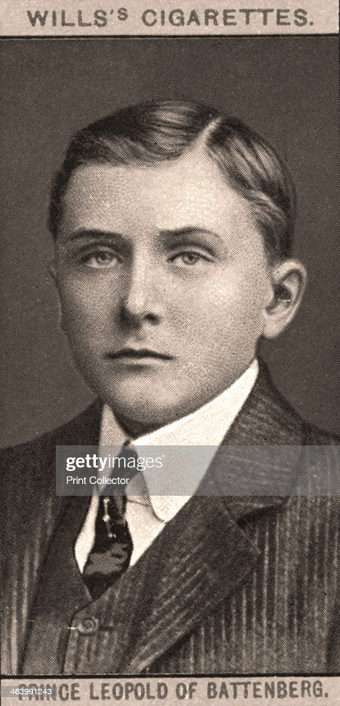 Prince Leopold of Battenberg, 1908.Artist: WD & HO Wills : News Photo