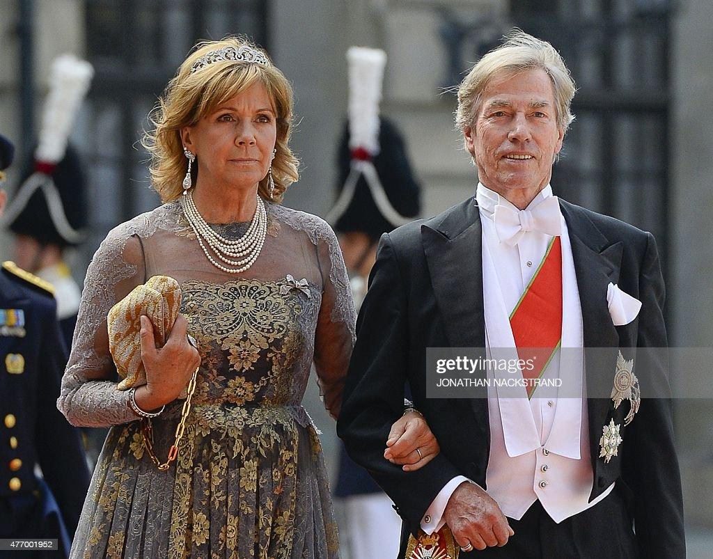 SWEDEN-ROYALS-WEDDING-ARRIVALS : News Photo