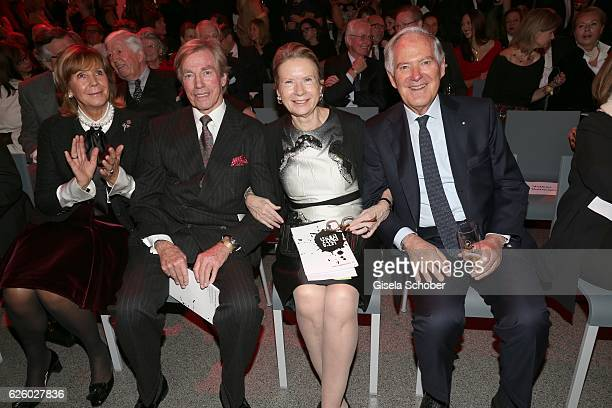 Prince Leopold Poldi von Bayern and his wife Princess Ursula Uschi von Bayern and Roland Berger and his wfe Karin Berger during the PIN Party Let's...