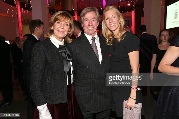 Prince Leopold Poldi von Bayern and his wife Princess Uschi Ursula von Bayern and their daughter Princess Felipa von Bayern during the PIN Party...