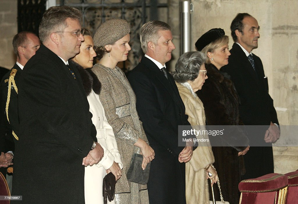 "Belgium Royals Attend the ""Fete Du Roi"" (King's Day) : News Photo"