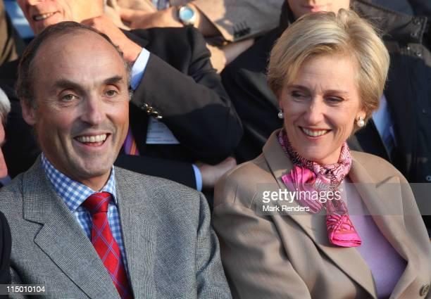 "Prince Lorentz and Princess Astrid of Belgium attend the ""Special Olympics Belgium"" opening ceremony on June 1, 2011 in Hasselt, Belgium."