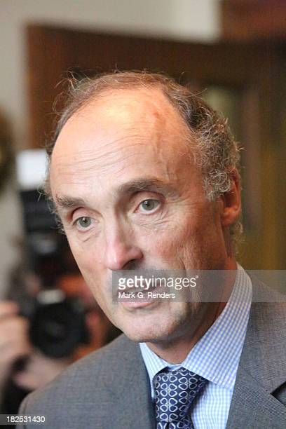 Prince Lorentz of Belgium visits the Musee des Beaux Arts on September 29, 2013 in Brussels, Belgium.