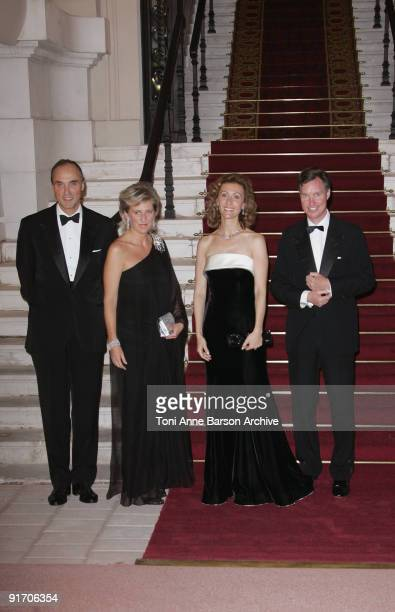 Prince Lorenz of Belgium, Princess Astrid of Belgium, Princess Sibilla of Luxembourg and Prince Guillaume of Luxembourg attend the EORTC Gala Charity...
