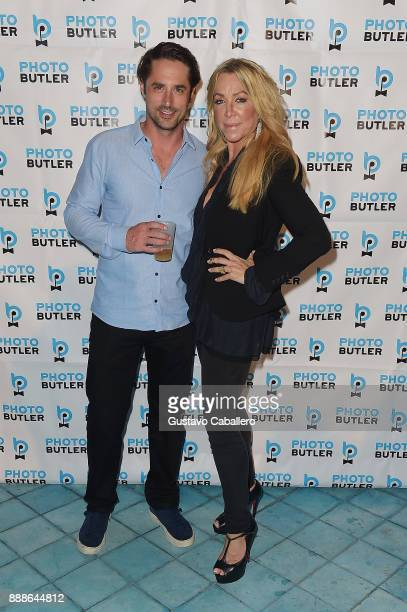 Prince Lorenzo Borghese and Anna Rothschild attend Rosario Dawson Hosts The Launch Of Photo Butler At Art Basel With Anna Rothschild And Claudine De...
