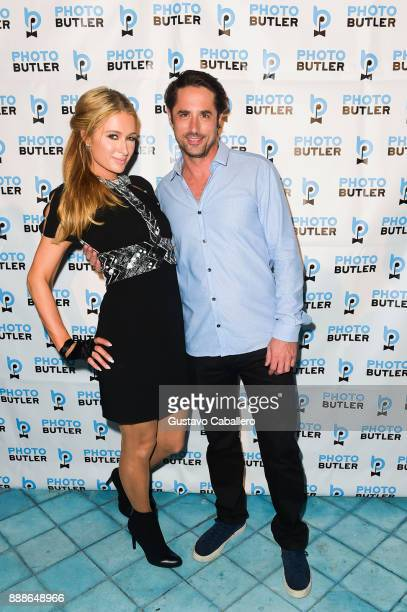 Prince Lorenzo Borghese and Paris Hilton attend Rosario Dawson Hosts The Launch Of Photo Butler At Art Basel With Anna Rothschild And Claudine De...