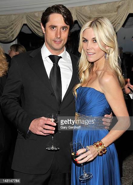 Prince Lorenzo Borghese and Tinsley Mortimer attend the 2012 Museum Of The Moving Image Honors at the St. Regis Hotel on April 19, 2012 in New York...