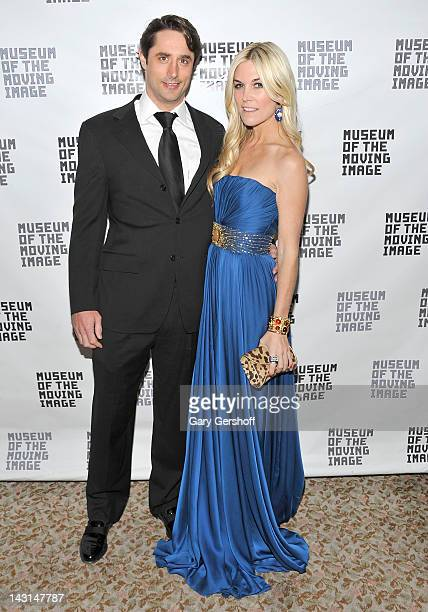 Prince Lorenzo Borghese and Tinsley Mortimer attend the 2012 Museum Of The Moving Image Honors at the St Regis Hotel on April 19 2012 in New York City