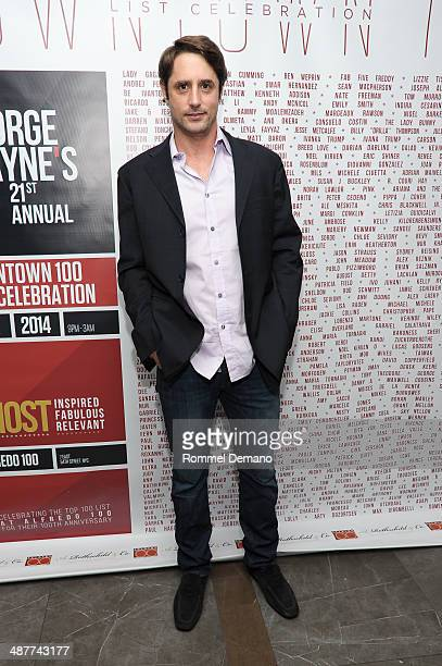 Prince Lorenzo Borghese attends 21st Annual George Wayne Top 100 List Party at Alfredo on May 1, 2014 in New York City.