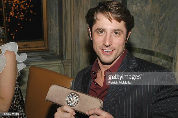 Prince Lorenzo Borghese attends MAC Cosmetics Honors RAQUEL WELCH at New York Palace Hotel on January 17, 2007 in New York City.