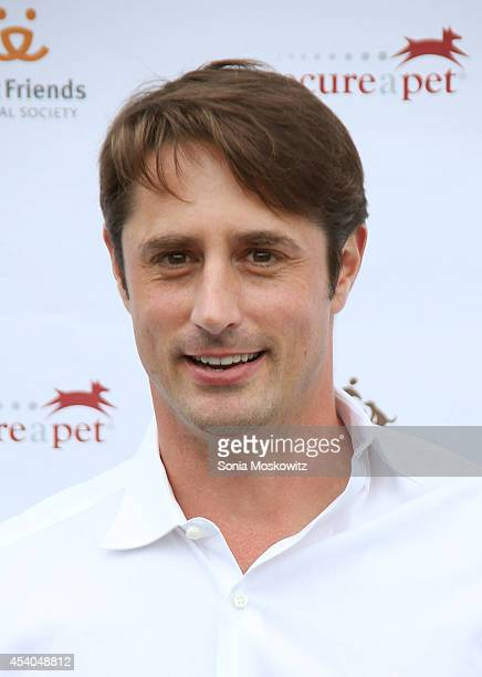 Prince Lorenzo Borghese attends the 3rd annual Pet Hero Awards at Hobby Hill Estate on August 23, 2014 in Water Mill, New York.