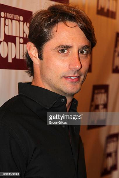 Prince Lorenzo Borghese attends the Broadway opening night of A Night With Janis Joplin at the Lyceum Theatre on October 10 2013 in New York City