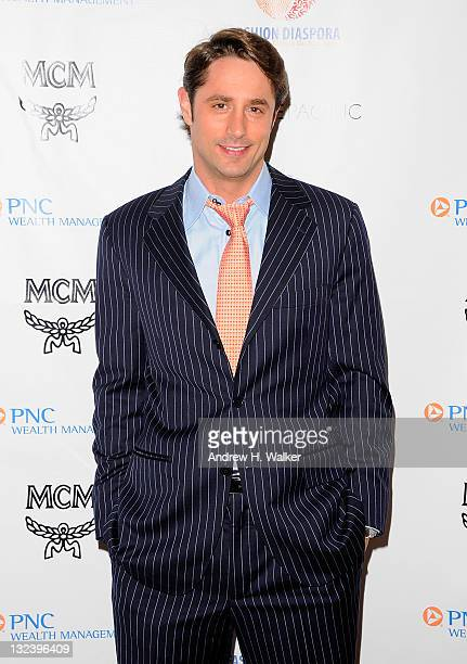 Prince Lorenzo Borghese attends the Fashion Diaspora Wearing Your Culture on Your Sleeve charity gala at The Yale Club on November 11 2011 in New...