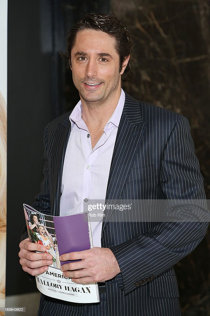 Prince Lorenzo Borghese attends the Miss America 2013 Mallory Hagan Official Homecoming Celebration at The Fashion Institute of Technology on March 16, 2013 in New York City.