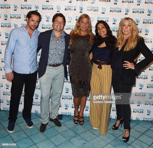 Prince Lorenzo Borghese Founder Chief Butler of Photo Butler Andy Goldfarb Claudine Deniro Rosario Dawson and Anna Rothschild attend Rosario Dawson...