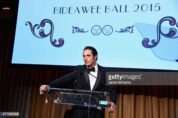 Prince Lorenzo Borghese speaks onstage during the 2015 Bideawee Ball with Former Bachelor Star Prince Lorenzo Borghese on June 15, 2015 in New York...