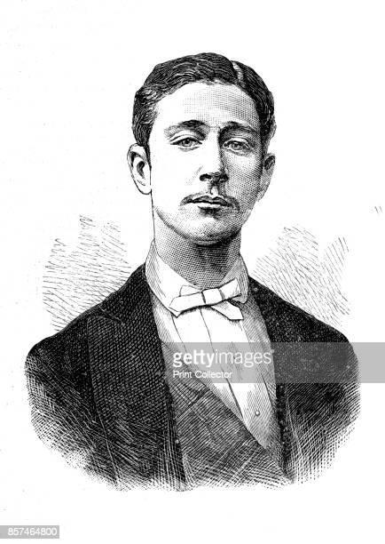 Prince Louis Napoleon' circa 1880 Napoleon Eugene Louis Jean Joseph Bonaparte prince impÈrial de France and son of the emperor Napoleon III From a...