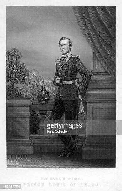 Prince Louis of Hesse 19th century Louis IV became the fourth Grand Duke of Hesse and by Rhine in 1877 He married Princess Alice Queen Victoria's...