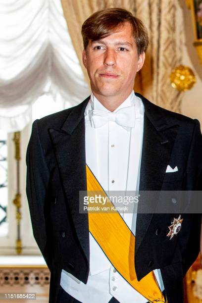 Prince Louis of Luxembourg during the reception at the Grand Ducal Palace on the National Day on June 23 2019 in Luxembourg Luxembourg