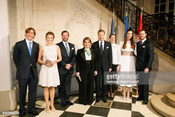 H Prince Louis of Luxembourg LLAARR GrandDuc Heritier Guillaume and GrandeDuchesse Heritiere Stephanie of Luxembourg LLAARR GrandDuc Henri and...