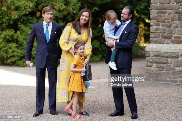 Prince Louis of Luxembourg , Prince Felix of Luxembourg, Princess Claire of Luxembourg, Princess Amalia of Luxembourg and Prince Liam of Luxembourg...