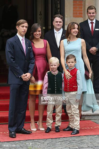 Prince Louis of Luxembourg Princess Alexandra of Luxembourg Princess Tessy of Luxembourg Prince Noah of Luxmebourg and Prince Gabriel of Luxembourg...