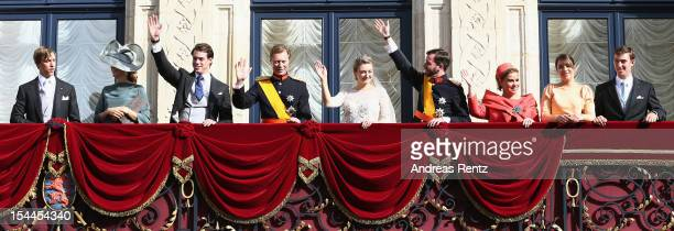 Prince Louis of Luxembourg Princess Tessy of Luxembourg Prince Felix of Luxembourg Grand Duke Henri of Luxembourg Princess Stephanie of Luxembourg...
