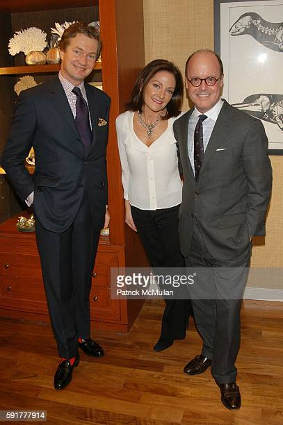 Prince LouisAlbert de Broglie Margaret Russell and Robert Burke attend Margaret Russell Editor In Chief Elle Decor Jim Gold President/CEO...