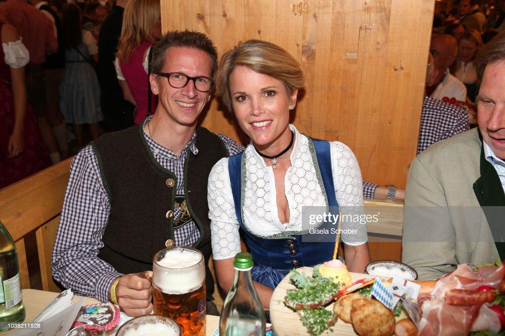 Prince Manuel of Bavaria, Stephanie zu Guttenberg during