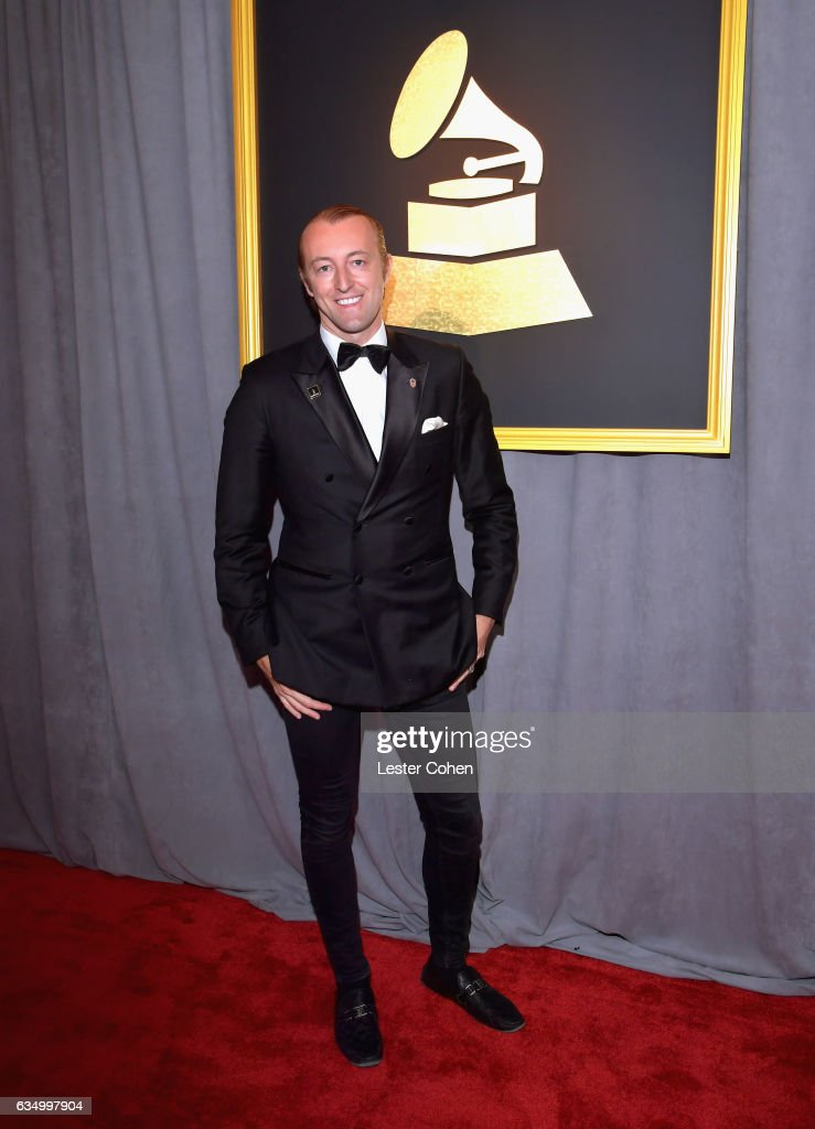 Prince Mario Max Schaumburg Lippe attends The 59th GRAMMY Awards at STAPLES Center on February 12, 2017 in Los Angeles, California.