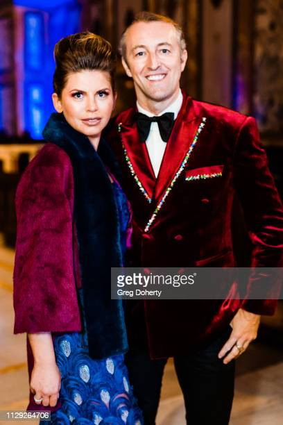 Prince MarioMax and Olga Robertson attend the Sanctuary Fashion Week on March 7 2019 in Los Angeles California