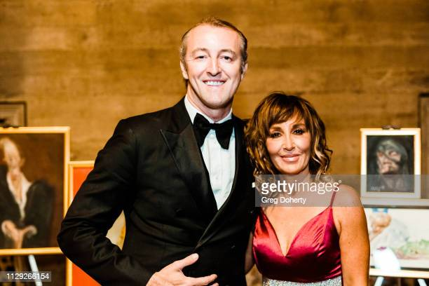 Prince MarioMax and Sonya Schmill attend the Sanctuary Fashion Week on March 7 2019 in Los Angeles California