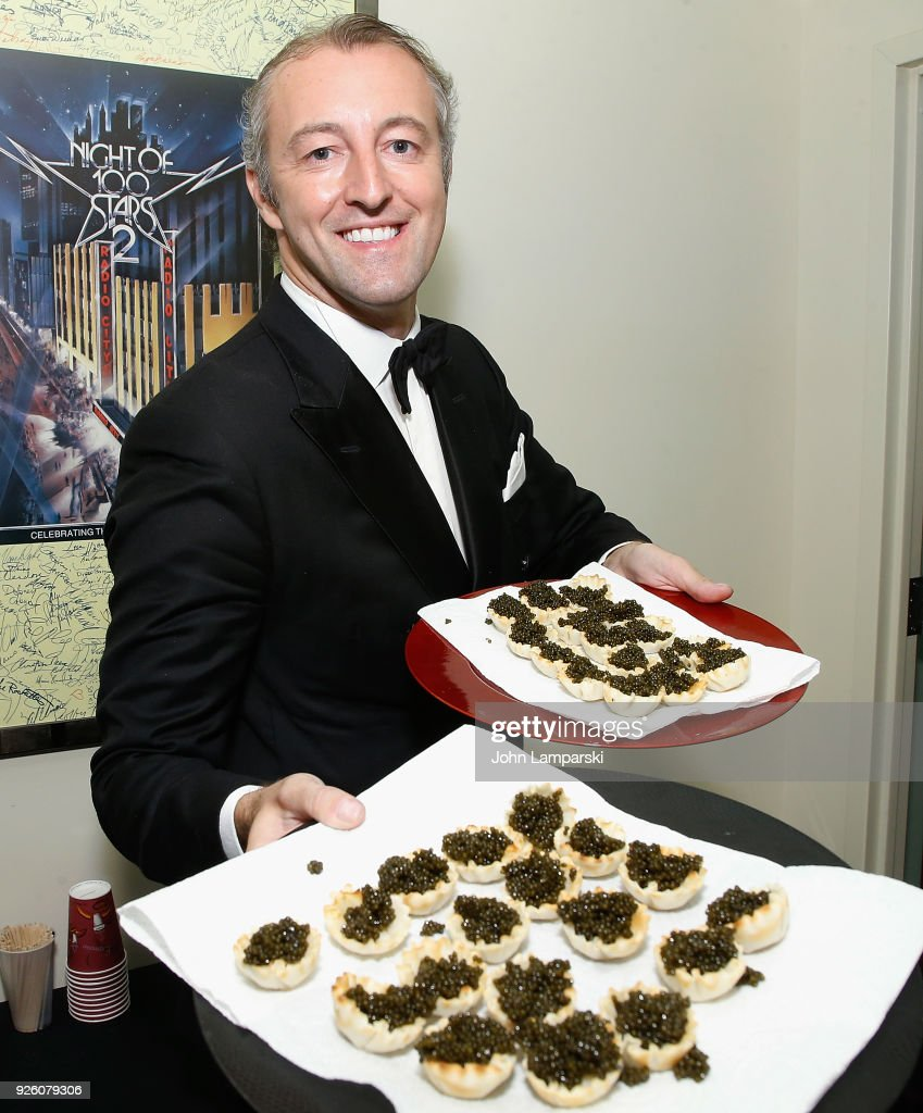 Prince Mario-Max Schaumburg Lippe hosts Le Caviar Royale reception on March 1, 2018 in New York City.