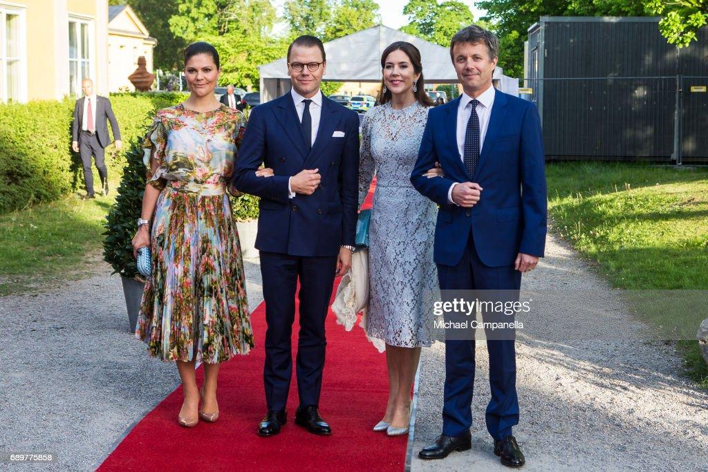 Danish Royals Visit Sweden - Day 1 : News Photo