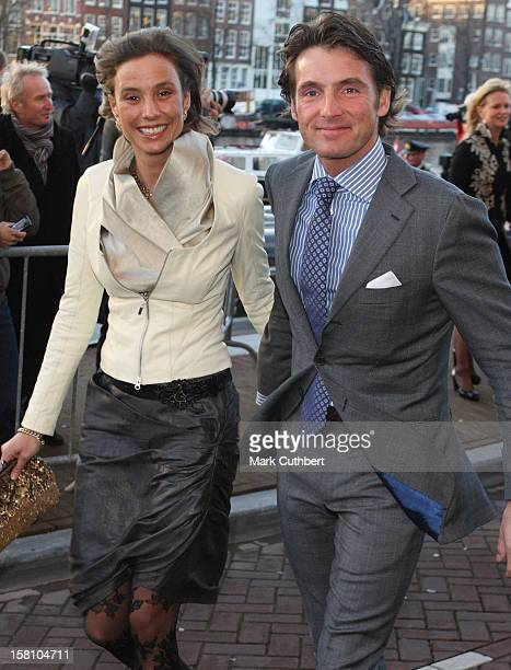 Prince Maurits And Princess Marilene Attend The Royal Theatre In Amsterdam As Part Of Queen Beatrix'S 70Th Birthday Celebrations