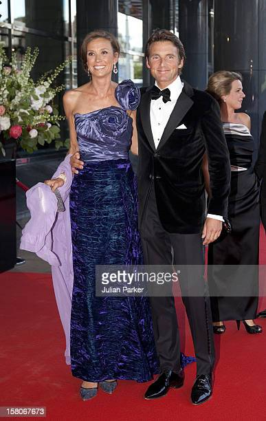 Prince Maurits And Princess Marilene Of Holland Arrive For A Concert At The Concertgebouw In Amsterdam To Celebrate Crown Princess Maxima Of Hollands...