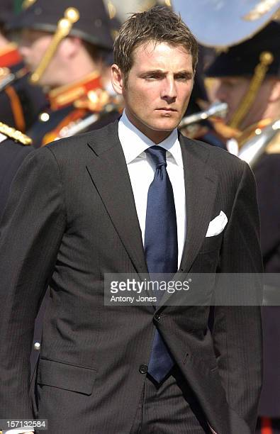 Prince Maurits Attends The Funeral Of Hrh Princess Juliana Of The Netherlands At The Nieuwe Kerk In Delft