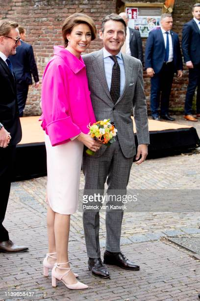 Prince Maurits of The Netherlands and Princess Marilene of The Netherlands attend the Kingsday Celebration on April 27 2019 in Amersfoort Netherlands