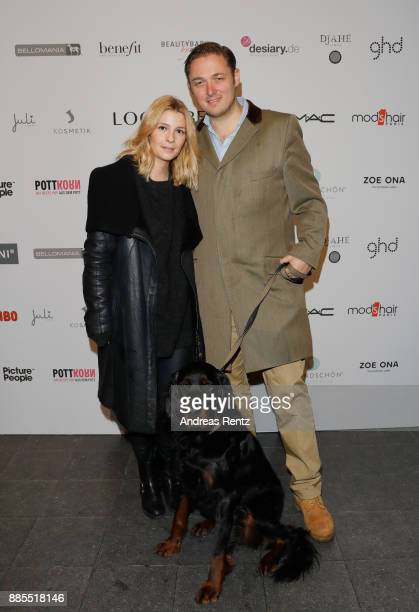 Prince Maximilian zu SaynWittgensteinBerleburg and his wife Princess Franziska zu SaynWittgensteinBerleburg attend the BlogBoutique XmasEdition on...
