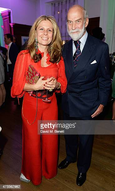 Prince Micael of Kent and Lady Aliai Forte attend Brown's Hotel Summer Party attend Brown's Hotel May 14 2015 in London England