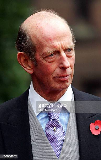 Prince Michael Duke of Kent at the wedding of Lady Tamara the eldest daughter of The Duke and Duchess of Westminster and Edward van Cutsem at Chester...