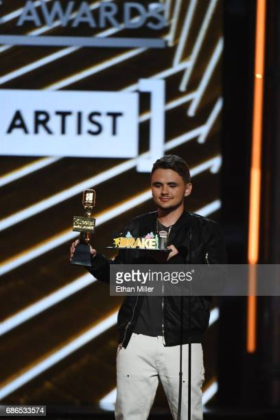 Prince Michael Jackson presents an award onstage during the 2017 Billboard Music Awards at TMobile Arena on May 21 2017 in Las Vegas Nevada