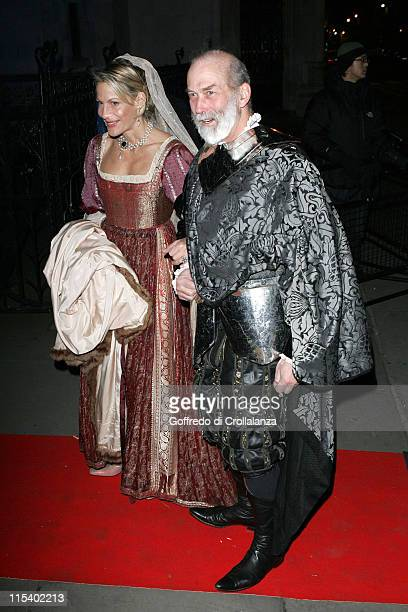 Prince Michael of Kent and Guest during Andy Wong's Chinese New Year Party January 28 2006 at Royal Courts of Justice in London Great Britain