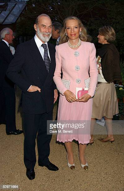 Prince Michael of Kent and Princess Michael of Kent attend Cartier dinner for VIP clients and guests hosted by Arnaud Bamberger Managing Director of...