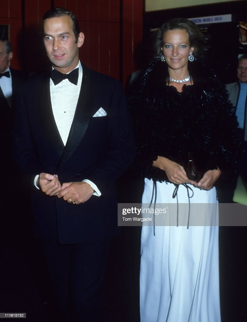 Prince Michael of Kent and Princess Michael of Kent at a Charity Dinner : News Photo