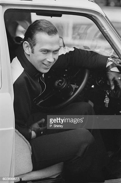 Prince Michael of Kent at the start of the London to Mexico World Cup rally at Wembley Stadium London UK 19th April 1970 He failed to finish the rally