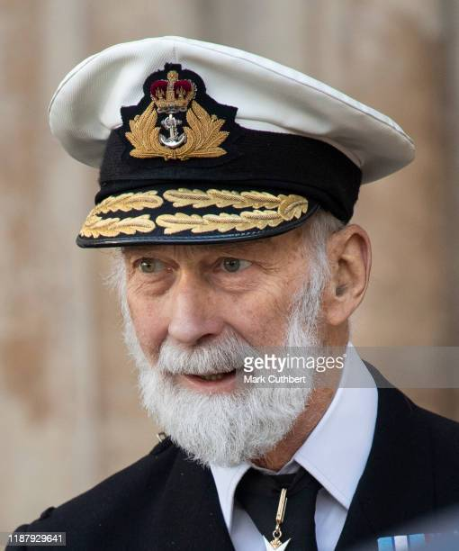Prince Michael of Kent attends a Service of Thanksgiving for the life and work of Sir Donald Gosling at Westminster Abbey on December 11, 2019 in...