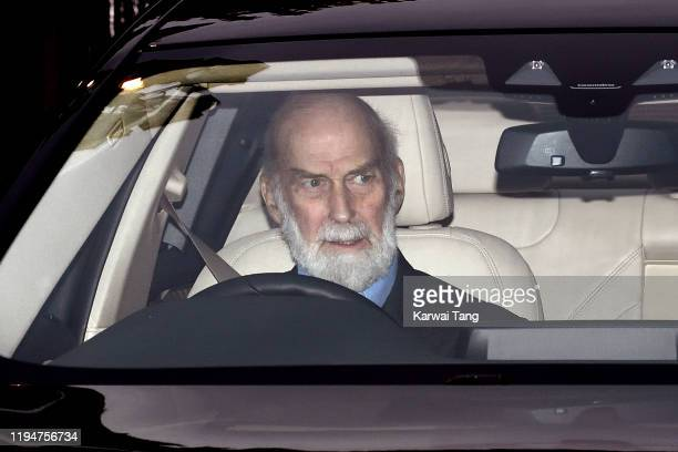 Prince Michael of Kent attends Christmas Lunch at Buckingham Palace on December 18, 2019 in London, England.